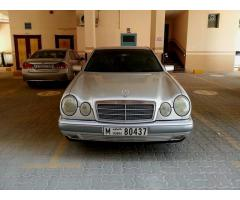 Well Maintained,Excellent Condition,Fully Automatic, Mercedes E240,Silver Color For Sale Only