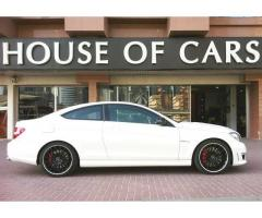 2012 Mercedes-Benz C63 AMG (Performance Package)