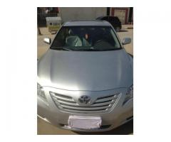 For Sale Toyota Camry Model 2008 GLX Number 1 (very good condition) due to travelling