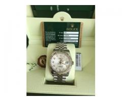 ROLEX DATEJUST SILVER JUBILEE 36mm Mod.116234 with 10 DIAMOND CALL-0505787704