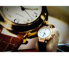 Cartier Pasha 42mm (RoseGold / Croc Leather)